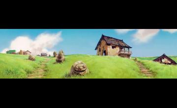 Farmhouse Dual Monitor Wallpaper