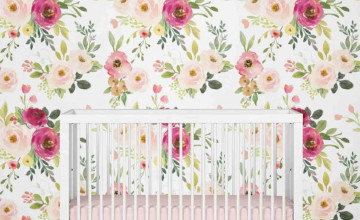 Farmhouse Floral Wallpaper