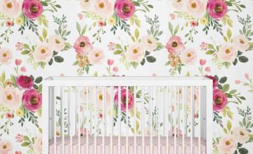 Farmhouse Floral Wallpaper
