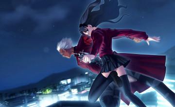 Fate Stay Night Rin Wallpaper