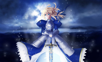 Fate Stay Night Saber Wallpaper
