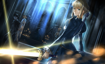 Fate Zero Saber Wallpaper