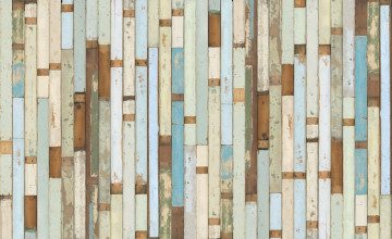 Faux Barn Wood Wallpaper