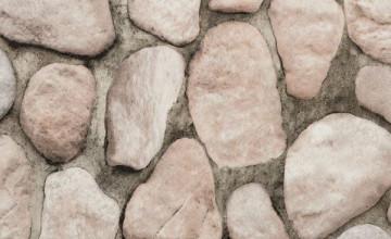 Faux River Rock Wallpaper
