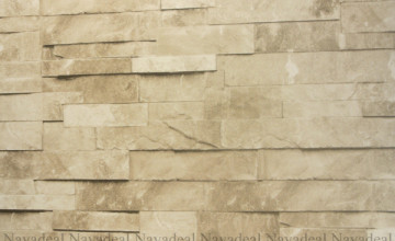 Faux Stacked Stone Wallpaper
