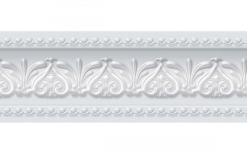 Faux Wood Molding Wallpaper Border