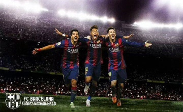 Fc Barcelona 2015 Wallpaper