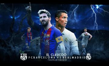FC Barcelona Vs Real Madrid 2018 Wallpapers