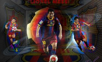 FC Barcelona Wallpaper Messi