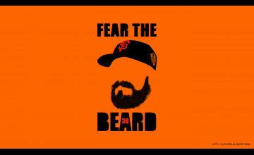 Fear The Beard Wallpaper