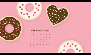 February Desktop Wallpaper 2016