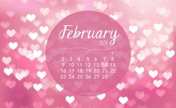 February Wallpaper for Desktop