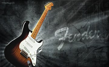 Fender Guitar Wallpaper for Computer