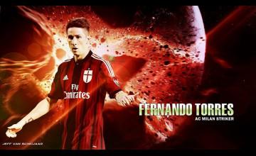 Fernando Torres AC Milan Wallpaper