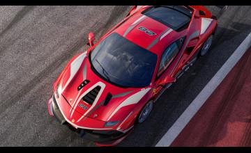 Ferrari 488 Challenge Evo Race Car Wallpapers