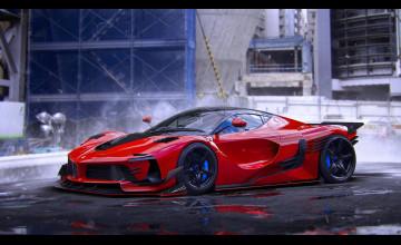Ferrari Background