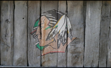 Fighting Sioux Desktop Wallpaper