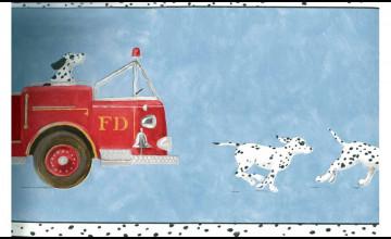 Fire Truck Wallpaper Borders