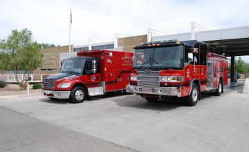 Fire Truck Wallpaper Desktop