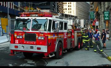 Fire Truck Wallpapers for Desktop