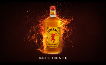 Fireball Wallpaper