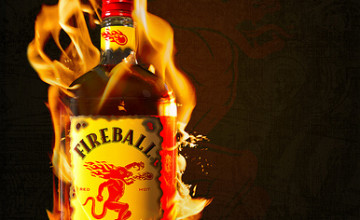 Fireball Whisky Wallpaper