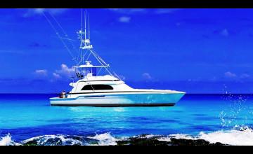 Fishing Boat Wallpaper