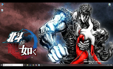 Fist Of The North Star: Lost Paradise Wallpapers