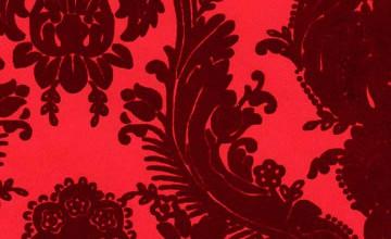 Flocked Velvet Wallpaper