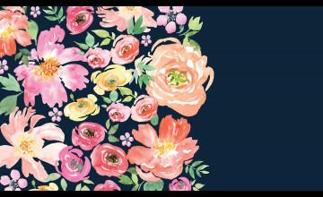 Flower Computer Background