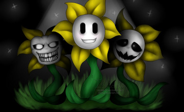 Flowey Undertale Wallpaper