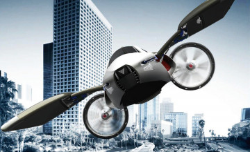 Flying Car Wallpapers