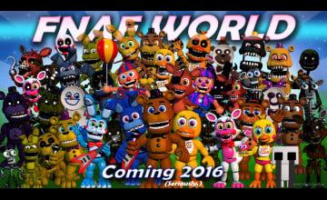Fnaf World Wallpapers