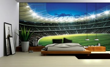 Football Bedroom Wallpaper