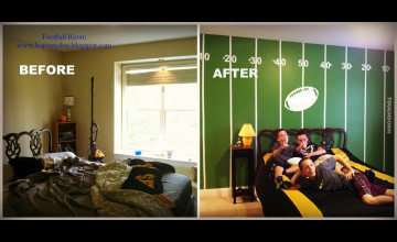 Football Field Wallpaper Room