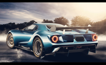 Ford GT 2017 Wallpaper