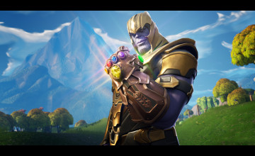 Fortnite Thanos Wallpapers