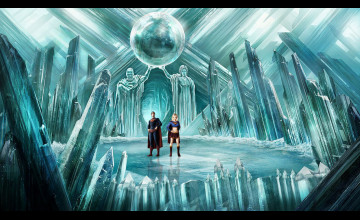 Fortress Of Solitude Wallpaper