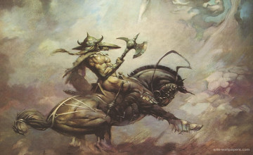 Frazetta Wallpaper