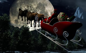 Free 3D Christmas Wallpaper