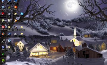 Free 3D Winter Desktop Wallpaper