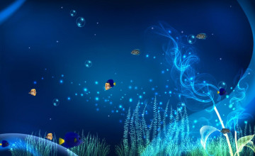 Free Animated Aquarium Desktop Wallpaper
