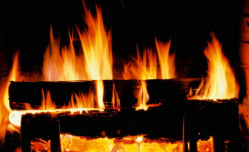 Free Animated Fireplace Desktop Wallpaper