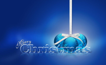 Free Beautiful 3D Christmas Wallpaper