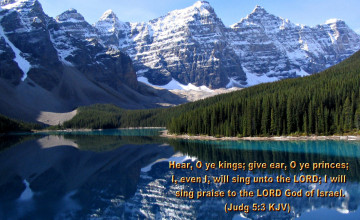 Free Christian KJV Wallpaper