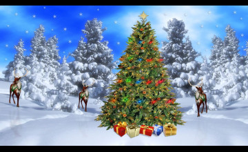 Free Christmas Desktop Wallpapers Backgrounds