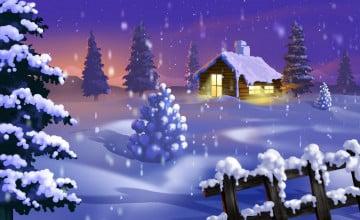 Free Christmas Nature Wallpaper