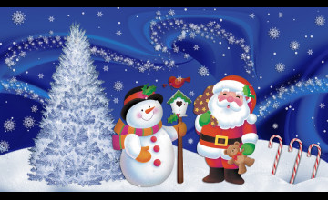 Free Christmas Wallpaper Screen Saver