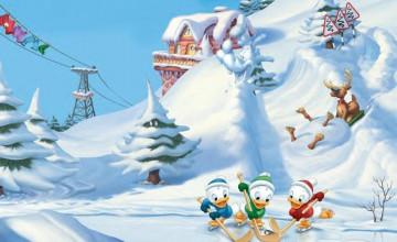 Free Disney Winter Wallpaper