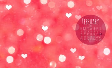Free February Desktop Wallpaper